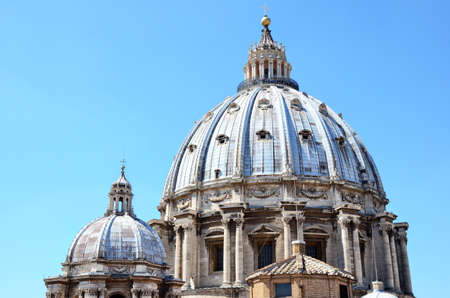 Basilica of Saint Peter, Vatican City. Rome Italy