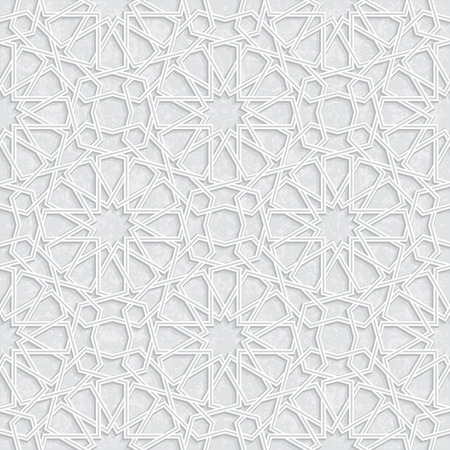 grey pattern: Star Pattern with Grunge Light Grey Background, Vector Illustration