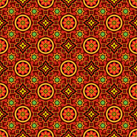 Sindhi ajrak vector pattern background