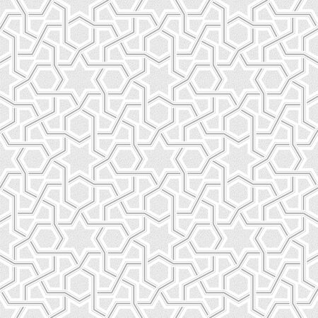 grey pattern: Geometric Light Grey Pattern, Vector Illustration Illustration