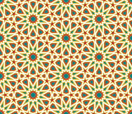 arabic background: Abstract Geometric Colorful seamless background, Wallpaper design