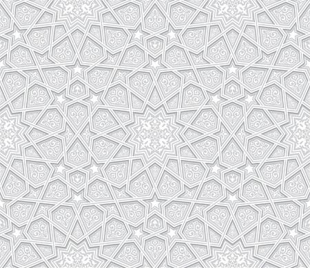 Geometric Grey Pattern with light background Illusztráció