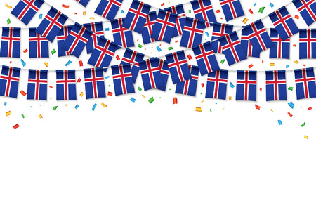 Confetti celebration template banner