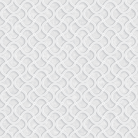 Geometric Pattern with Grunge Light Grey Background, Vector Illustration