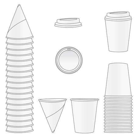 water jug: Paper Cups
