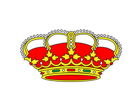 trono real: Corona