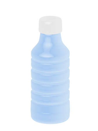 3d Plastic Bottle Vector