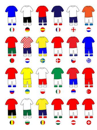 jersey: Europe Jerseys Football Kits