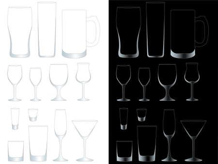 renat: Transparent Glasögon med EPS 10 maskopacitet