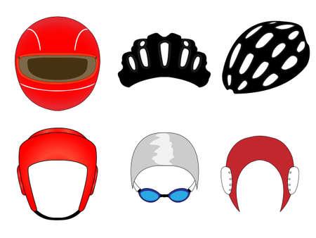 Sports Headwear 1 Vector