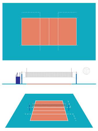 volleyball serve: Voleibol