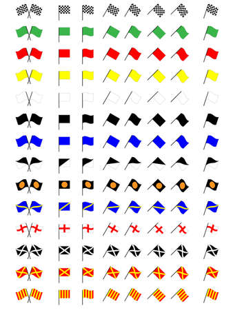 race flag: Racing Flags