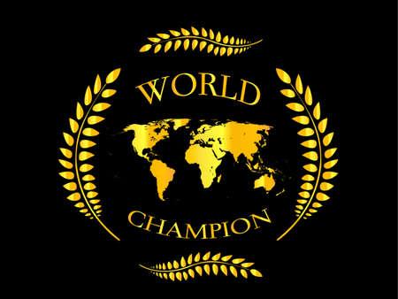 awards ceremony: World Champion