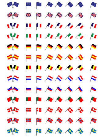 onu: Flags of Europe 1  No Coats of Arms
