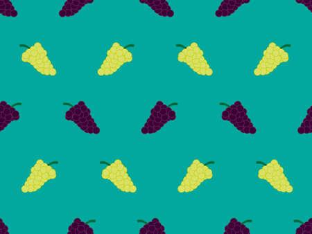 포도 배경 원활한 패턴 그린 1 일러스트