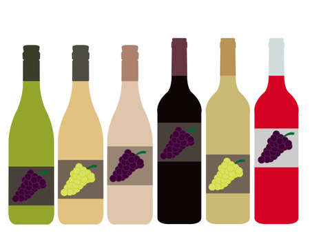 bottle of wine: Different Kinds of Wine Bottles