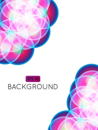 Abstract Background Circles 3 Transparency Stock Vector - 15398197