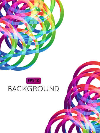 Abstract Background Circles 1  Transparency Stock Vector - 15398204