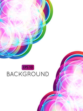 Abstract Background Circles 2  Transparency Stock Vector - 15398201