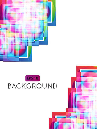 Abstract Background Squares Stock Vector - 15401188