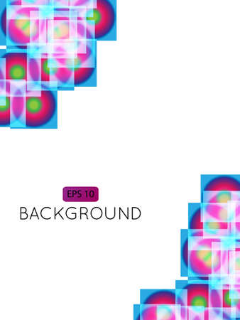 Abstract Background Squares Stock Vector - 15401185