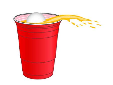 mug shot: Beer Pong Shot