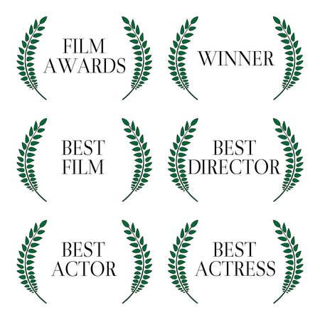camara de cine: Ganadores Film 1 Vectores