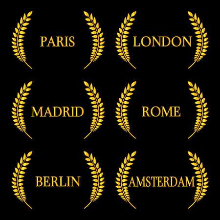europe: Laurel Wreath Western Europe Capital Cities 2