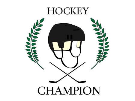 Hockey Champion 2 Stock Vector - 23644304