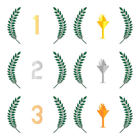 1: Finishing Places Laurel Wreaths 1