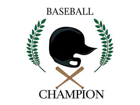 Baseball Champion  Stock Vector - 23713199
