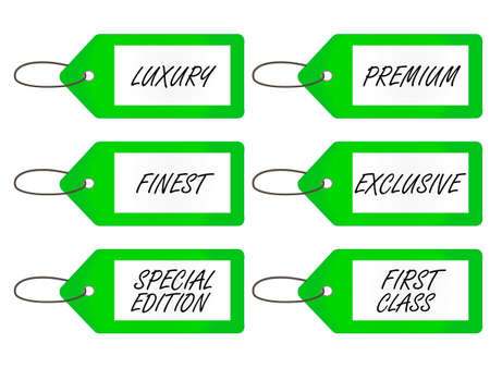special edition: Luxury Tags   Green