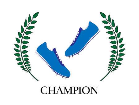 Athletics Champion  Vector
