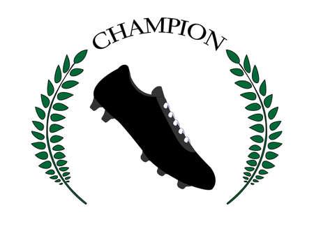 Football Champion 1 Stock Vector - 24561549