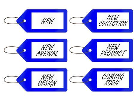 New Arrivals Tag 3 Blue
