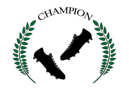 Football Champion 3 Vector