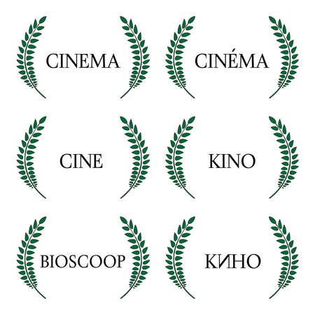 Cinema Laurels in Different Languages 1
