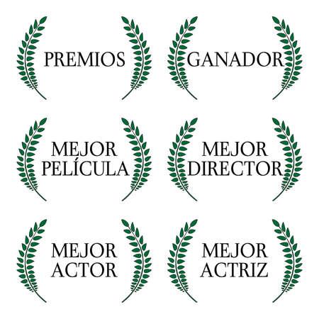 feature films: Film Winners Laurels in Spanish