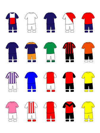 French League Clubs Kits 2013-14 Ligue Illustration