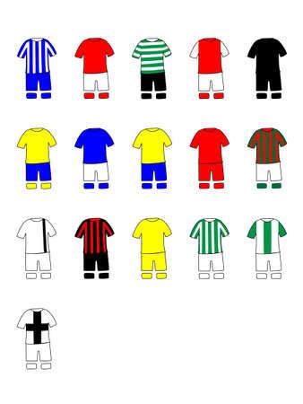 league: Portuguese League Clubs Kits 2013-14 Primeira Liga Illustration