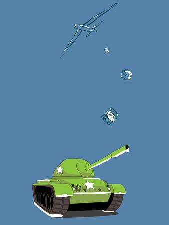 Cold War Illustration Stock Vector - 27443652
