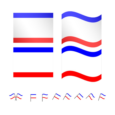 compatriot: Crimea Flags Illustration