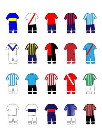 Argentinian League Clubs Jerseys
