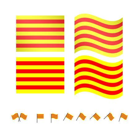compatriot: Catalonia Flags