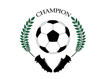 cleats: Football Champion  Illustration