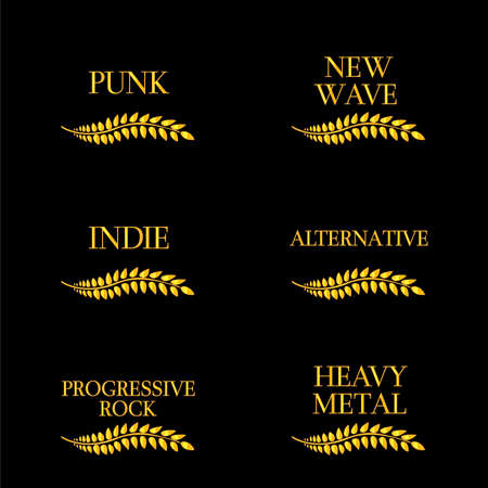 Music Genres 12 Vector