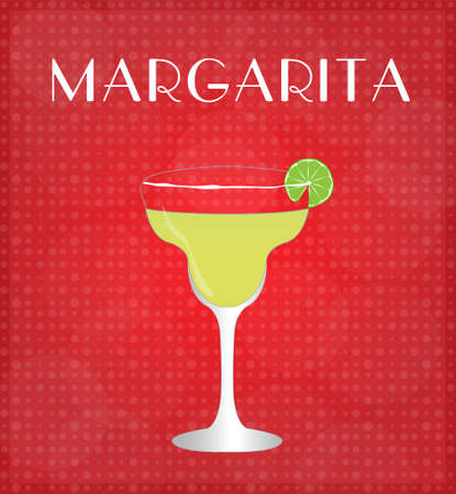 Drinks List Margarita Vector
