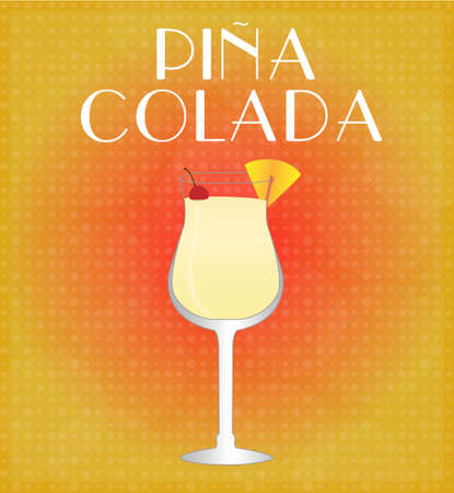 hangover: Drinks List Pina Colada with Red