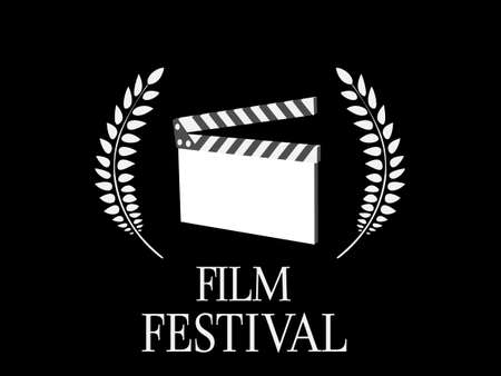 Film Festival Black and White 2 Vector