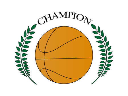 Basketball Champion 2 Stock Vector - 27596585